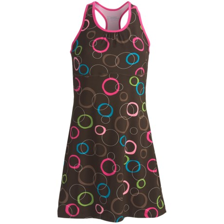 Skirt Sports Wonder Girl Tank Dress (For Women) in Hot Chocolate Print