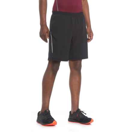 "Skora Woven Stretch Shorts - 9"", Built-In Liner (For Men) in Black/Castlerock - Closeouts"