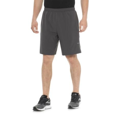 """Skora Woven Stretch Shorts - 9"""" Inseam ( For Men) in Grey"""