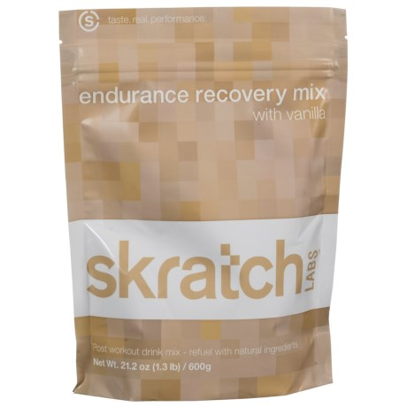 Skratch Labs Endurance Recovery Mix - 600g Resealable Bag in Vanilla