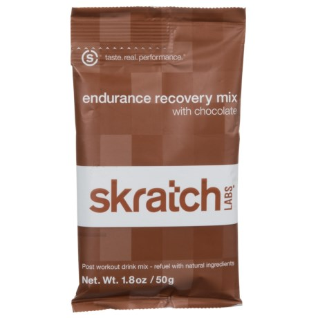 Skratch Labs Endurance Recovery Mix - Single Serving, Chocolate in Chocolate