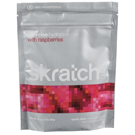 Skratch Labs Exercise Hydration Mix - 40-Serving Bag in Raspberries