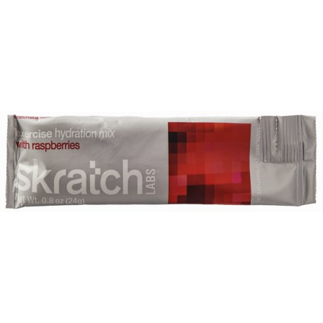 Skratch Labs Exercise Hydration Mix - Single Serving in Raspberries