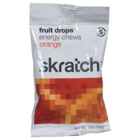 Skratch Labs Sport Energy Chews in Orange