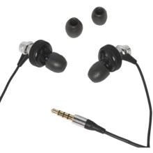 Skullcandy Heavy Medal Earbud Headphones - Mic3 in Chrome/Black - Closeouts