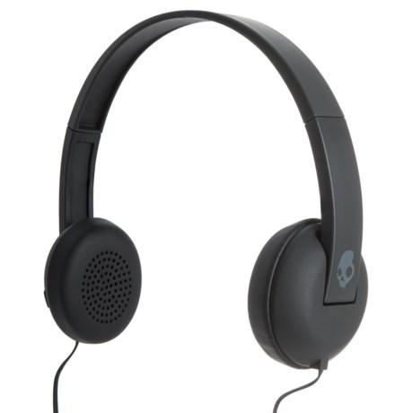 Skullcandy Uproar Wired Headphones in Black/Gray