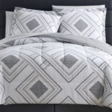 S.L. Home Fashions Harwich Comforter Set - Queen, 8-Piece