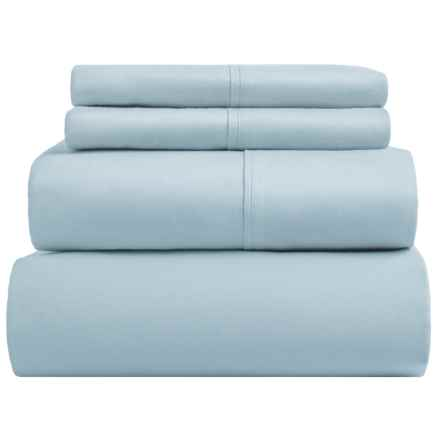S.L. Home Fashions Mallorca Collection Sheet Set - Queen, 400 TC in Blue - Closeouts