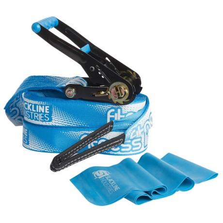 Slackline Industries Fitness Line Slackline - 50' in Blue