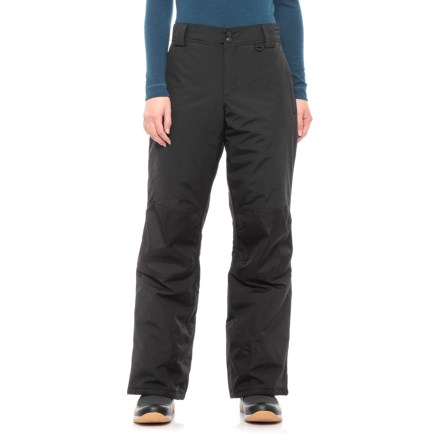 Slalom Cala Pull-On Snow Pants - Insulated (For Women) in Caviar - 521a1ad67