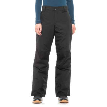 74bd84ba55 Slalom Cala Pull-On Snow Pants - Insulated (For Women) in Caviar -