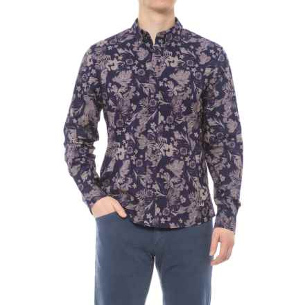 Slate & Stone Asher Print Shirt - Long Sleeve (For Men) in Garden Print - Overstock