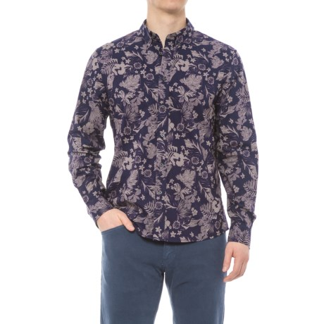 Slate & Stone Asher Print Shirt - Long Sleeve (For Men) in Garden Print