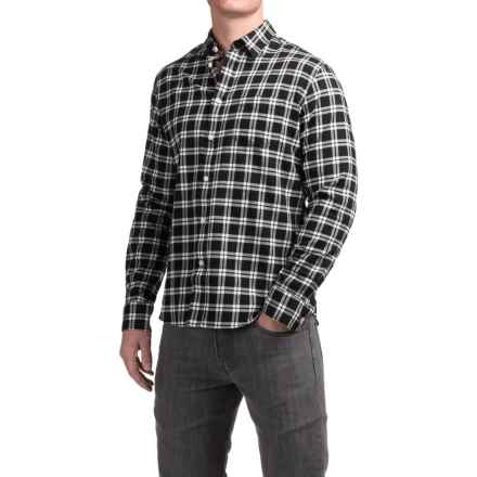 Slate & Stone Button-Down Shirt - Long Sleeve (For Men) in Black/White - Closeouts