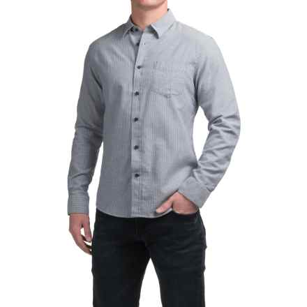 Slate & Stone Button-Down Shirt - Long Sleeve (For Men) in Blue Engineer Stripe - Closeouts