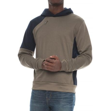Slate & Stone Color-Block Hoodie (For Men) in Fatigue/Navy