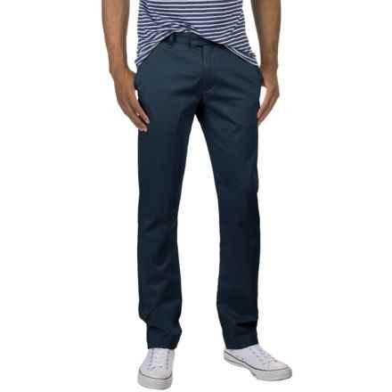 Slate & Stone Harrison Dress Pants - Slim Fit (For Men) in Faded Blue - Closeouts