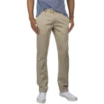Slate & Stone Harrison Dress Pants - Slim Fit (For Men) in Khaki - Closeouts