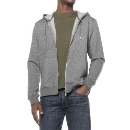 Slate & Stone Kurt Hoodie - Full Zip (For Men) in Grey - Closeouts
