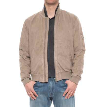 Slate & Stone Leonard Bomber Jacket (For Men) in Beige - Overstock