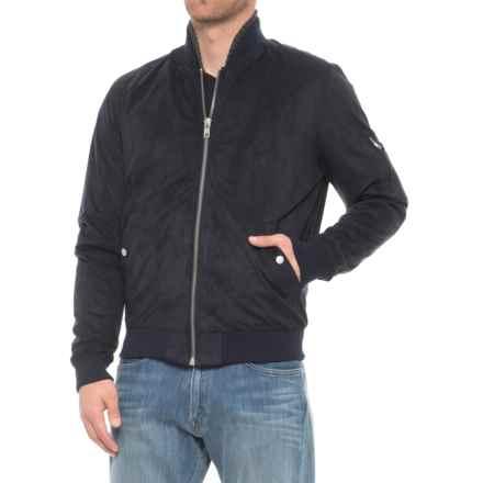 Slate & Stone Leonard Bomber Jacket (For Men) in Navy - Overstock