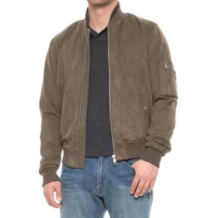 Slate & Stone Leonard Bomber Jacket (For Men) in Olive - Overstock