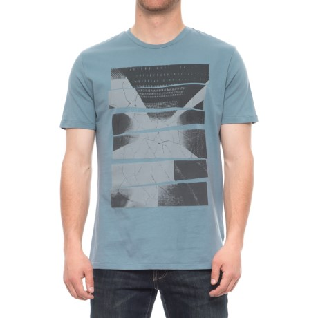 Slate & Stone Logan T-Shirt - Short Sleeve (For Men) in Blue City