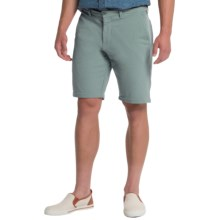 Slate & Stone Madison French Terry Shorts - Cotton Knit (For Men) in Seafoam - Closeouts