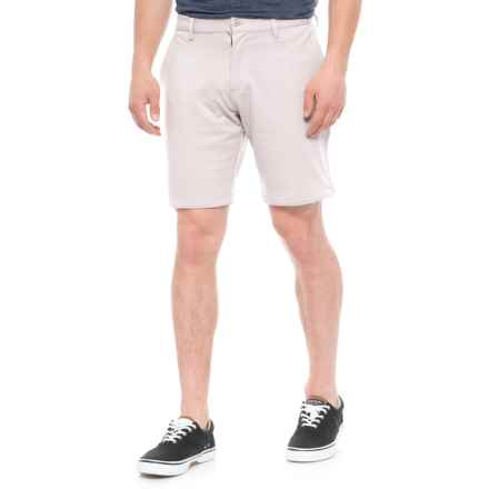 Slate & Stone Madison French Terry Shorts - Cotton Knit (For Men) in Stone - Closeouts