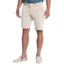 Slate & Stone Madison French Terry Shorts - Cotton Knit (For Men) in White - Closeouts