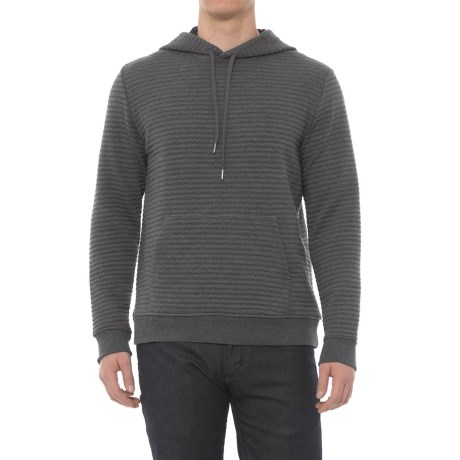 Slate & Stone Robby Hoodie (For Men) in Textured Grey