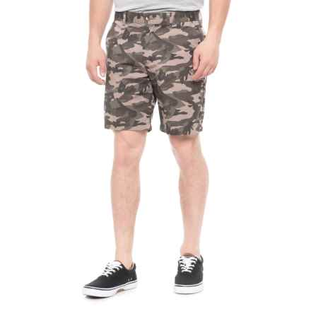 Slate & Stone Ross Novelty Print Shorts (For Men) in Faded Camo - Overstock