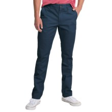 Slate & Stone Sam Slim Fit Chino Pants (For Men) in Navy - Closeouts
