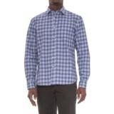 Slate Denim & Co. Dylan Distressed Plaid Shirt - Long Sleeve (For Men)