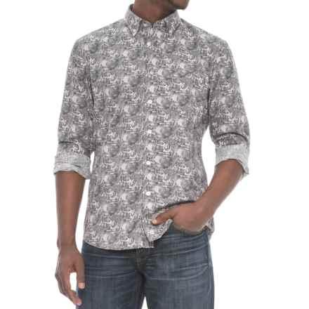 Slate Denim & Co. Jagger Shirt - Long Sleeve (For Men) in Dark Grey - Overstock