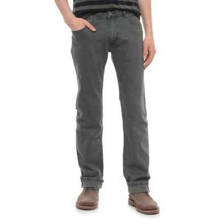 Slate Denim & Co. Parker Slim Fit Jeans - Straight Leg (For Men) in Grey Wash - Overstock