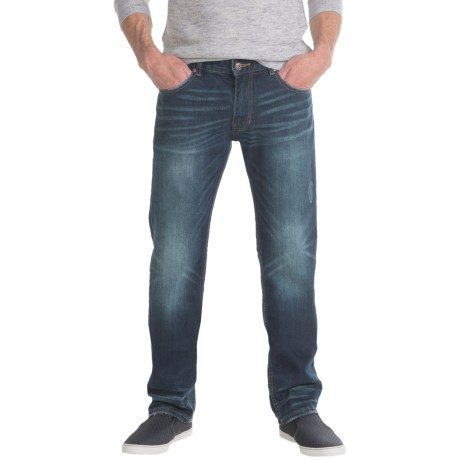 Slate Denim & Co. Parker Slim Jeans - Straight Leg (For Men) in Dark Vintage Wash
