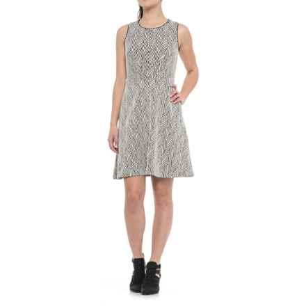 Sleeveless Dress (For Women) in Black White - 2nds