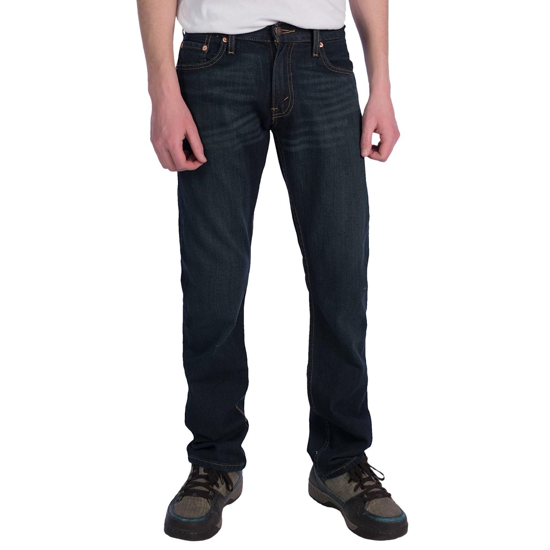 slim fit jeans straight leg for men save 56. Black Bedroom Furniture Sets. Home Design Ideas