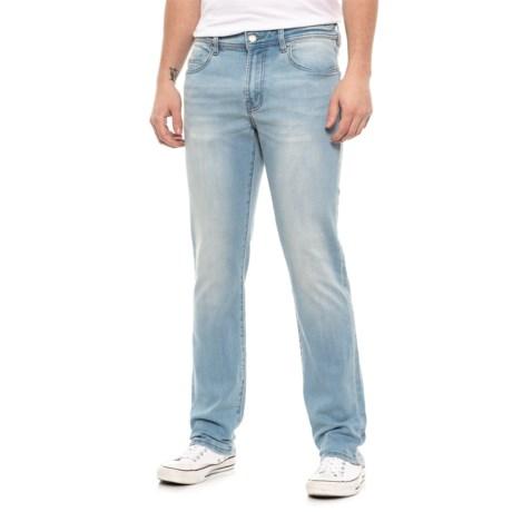 Slim Fit Straight-Leg Jeans (For Men) - RIVERSIDE LIGHT ( )
