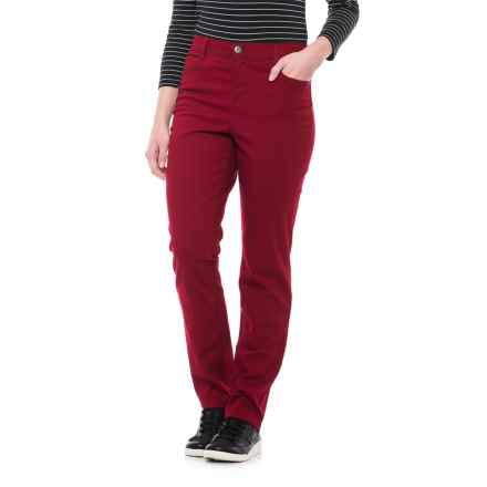 Slim-Leg Colored Jeans (For Women) in Red - 2nds