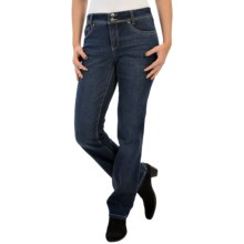 Slimming Denim Jeans (For Women) in Dark Wash - 2nds