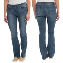 Slimming Stretch Jeans - Bootcut (For Women) in Blue - 2nds