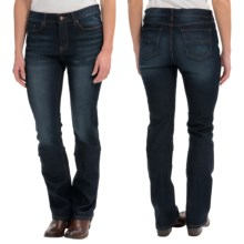 Slimming Stretch Jeans - Bootcut (For Women) in Dark Blue - 2nds
