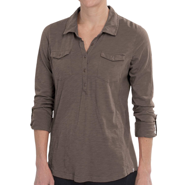 Slub cotton shirt long sleeve for women save 53 for What is a slub shirt