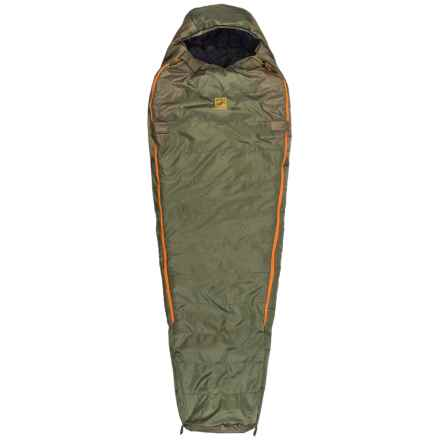 Slumberjack 0°F Lapland DriDown Sleeping Bag - Long, Mummy in Green/Orange - Closeouts