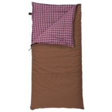 Slumberjack 20°F Big Timber Sleeping Bag - Long, Synthetic in Hunter Brown - Closeouts