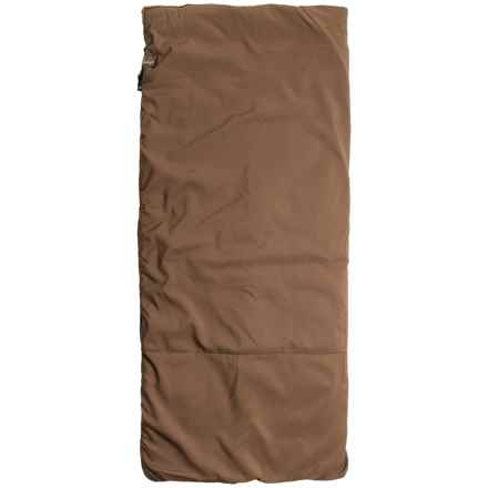 Slumberjack 20°F Big Timber Sleeping Bag - Rectangular (For Women) in Brown - Closeouts