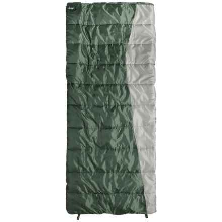 Slumberjack 20°F Forest Sleeping Bag - Rectangular (For Women) in Riffle Green - Closeouts