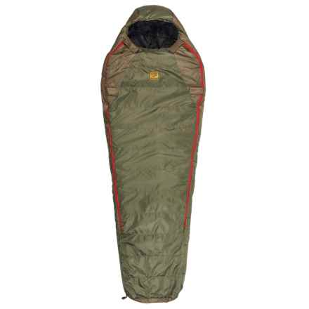 Slumberjack -20°F Lapland DriDown Sleeping Bag - Long, Mummy in Green/Red - Closeouts